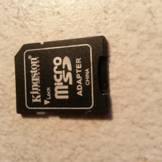Adaptor Micro SD Kingston, < 1 GB