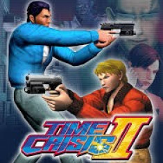 Time Crisis II 2 -  PS2 [Second hand], Actiune, 16+, Multiplayer