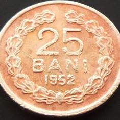 Moneda 25 Bani - ROMANIA, anul 1952 *cod 5096 - Moneda Romania