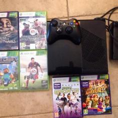 Consola Xbox 360 Microsoft 250 GB + 1 controller Xbox 360 Microsoft wireless + 6 jocuri