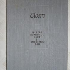 Supremul bine si supremul rau an 1983/478pag- Cicero