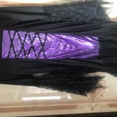 Rochie vrajitoare ( marime universala ) - Costum Halloween, Marime: 30, Culoare: Din imagine