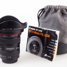 Canon 17-40 L, USM, f4