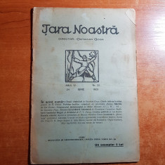 revista tara noastra 24 iunie 1923-art. doua simboluri de octavian goga
