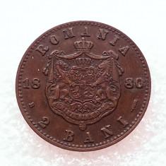 2 BANI 1880-CUPRU-CAROL I DOMN - Moneda Romania