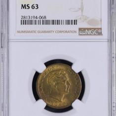2000 lei 1946 MS 63 GRADATA NGC - Moneda Romania