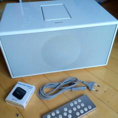 Boxa Geneva Sound System Model M+telecomanda+adaptor bluetooth, iPod, FM