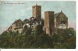 (A) carte postala(ilustrata)-GERMANIA- Die Wartburg vonSud-West, Necirculata, Printata