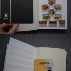 Ts199 Clasor nou a5 cu timbre stampilate tatica arta si religie 7 coli