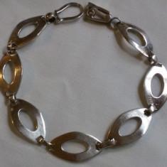 BRATARA argint SPLENDIDA superba MODERNISTA eleganta de EFECT delicata FINUTA, Femei