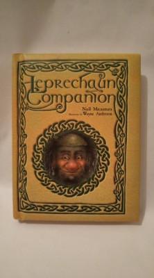 Carte in limba engleza Leprechaun Companion, Niall Macnamara, ilustratii superbe foto