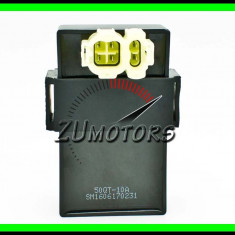Cdi Aprindere Scuter Atv 4T 50QT - 10A - Contact Pornire Moto