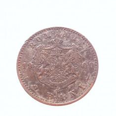2 BANI 1900-CUPRU-CAROL I REGE - Moneda Romania