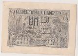 ROMANIA 1 LEU 1915 AUNC
