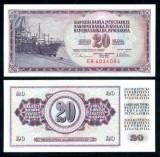 IUGOSLAVIA- 20 DINARI 1978- UNC!!