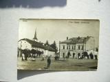 Hateg Piata Regele Ferdinand  cca.1930, Necirculata, Fotografie