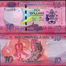 INSULELE SOLOMON- 10 DOLLARS 2017- NEW- UNC!!