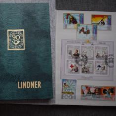196 Clasor cu timbre stampilate si colite diverse