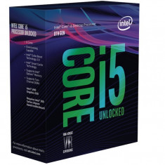 Procesor Intel Core I5 8600K, Coffe Lake, 6 nuclee, 3.6 Ghz - Procesor PC