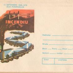 IP 9927 INTREG POSTAL - ZIUA POMPIERILOR. PIONIERII - INCENDIU