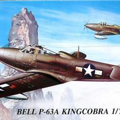 Macheta avion Bell P-63A Kingcobra - MPM 72021, scara 1:72