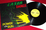 Laserdance - Power Run (1987, ZYX) disc vinil Maxi Single italo-disco