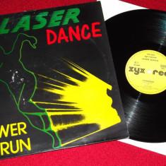 Laserdance - Power Run (1987, ZYX) disc vinil Maxi Single italo-disco - Muzica Dance