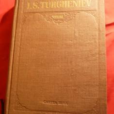 I.S.Turgheniev -Opere -Ed.Arlus Cartea Rusa -vol.I -trad.M.Sadoveanu ,ilustratii, I.S. Turgheniev