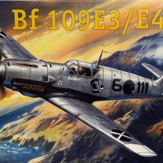 Macheta avion Messerschmitt Bf 109E-3 - Amodel 72117, scara 1:72