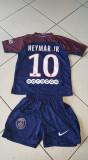 Echipament copii PSG , 10 NEYMAR JR 4-16 ani,  MODEL NOU 2017/2018, YS, YXS, Set echipament fotbal