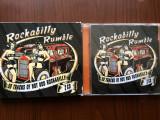 Rockabilly Rumble 50 track of hot road 2 cd dublu disc muzica rock compilatie