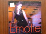 Unica music emotie cd disc muzica pop rock compilatie roton records 2001