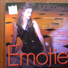 Unica music emotie cd disc muzica pop rock compilatie roton records 2001