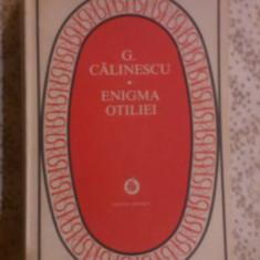 ENIGMA OTILIEI - Roman