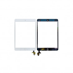 Touchscreen digitizer geam sticla Apple iPad Mini cu buton home si cip IC, 7.9 inch