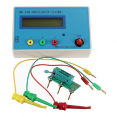 Tester ESR RLC metru pentru condensatori, tranzistorii, diode, rezistente, nou
