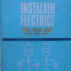 Instalatii Electrice - O. Centea, C. Bianchi, 409414 - Carti Electrotehnica