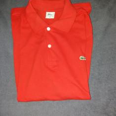 Tricou casual rosu Lacoste, marimea XL. Este aproape nou. - Tricou barbati Levi's