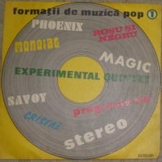 Vinil Formații De Muzică Pop 1:Phoenix, Mondial, Roșu Și Negru, disc VG, mici zg