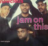 Newcleus - Jam On This 1990, disc vinil Maxi Single  Electro / Break Dance