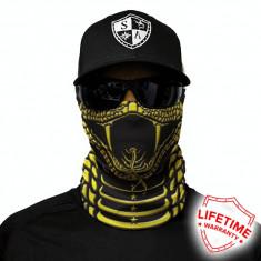 Bandana/Face Shield/Cagula/Esarfa - Fierce, made in USA, Marime: Masura unica, Culoare: Din imagine