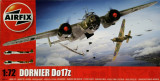 Macheta avion Dornier Do 17Z - Airfix A05010, scara 1:72