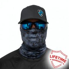 Bandana/Face Shield/Cagula/Esarfa - Blue Digital Camo, made in USA, Marime: Masura unica, Culoare: Din imagine