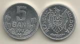 MOLDOVA  5  BANI  2012  a  UNC   [1]   livrare in cartonas, Europa, Aluminiu
