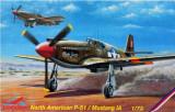 Macheta avion North American P-51 Mustang IA - MPM C72015, scara 1:72