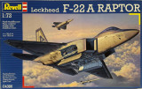Macheta avion Lockheed F-22A Raptor - Revell 04386, scara 1:72