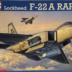 Macheta avion Lockheed F-22A Raptor - Revell 04386, scara 1:72 - Macheta Aeromodel