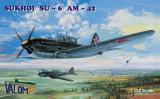 Macheta avion Sukhoi Su-6 AM-42 - Valom 72001,  scara 1:72