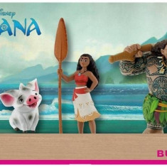 Set 4 figurine Vaiana - Figurina Animale Bullyland