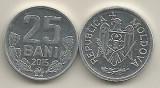 MOLDOVA  25  BANI  2015  [01]  UNC, Europa, Aluminiu